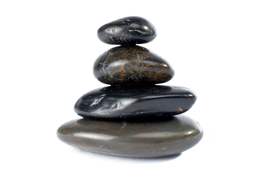 Image: Four stones piled on top of each other