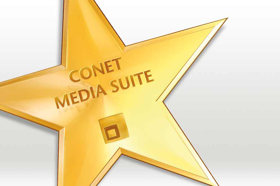 Logo: CONET Media Suite