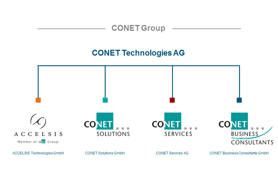 Illustration: CONET Group Organization Chart