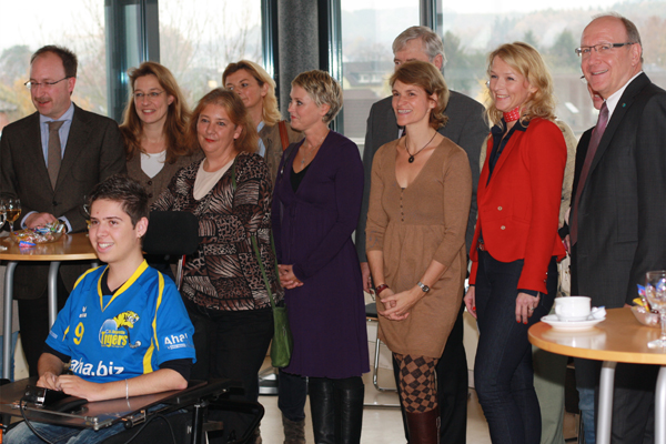 CONET Charity 2011 at the headquarters Hennef