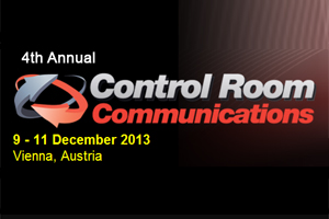 Logo: 4th Annual Control Room Communications - 9.-11. December 2013