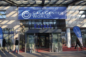 Image: Welcome to CallCenterWorld CCW in Berlin - Source: CCW