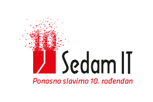 Logo: Sedam IT - Partner of CONET UC Radio Suite