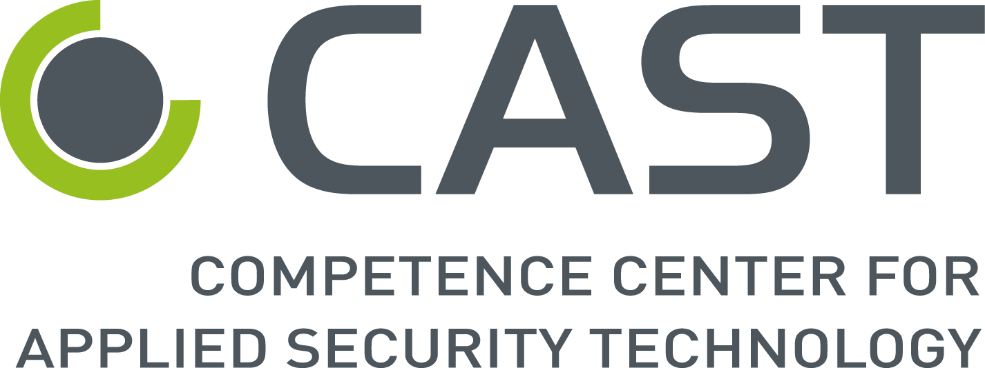 Logo: Competence Center for Applied Security Technology, CAST e.V.