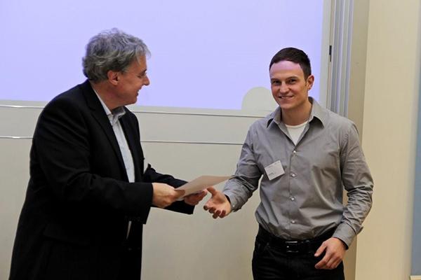 Conet mitarbeiter erh lt wissenschaftspreis for Armin heinzl