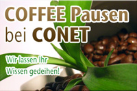 Bild: CONET, Web, Coffee Pause