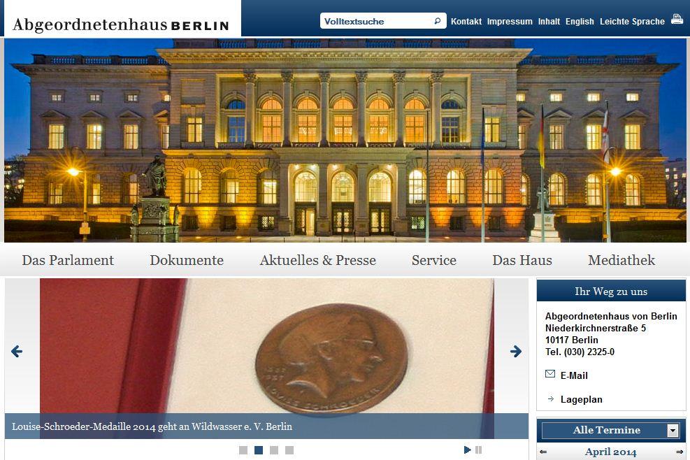 Bild: CONET, Parlament, Berlin