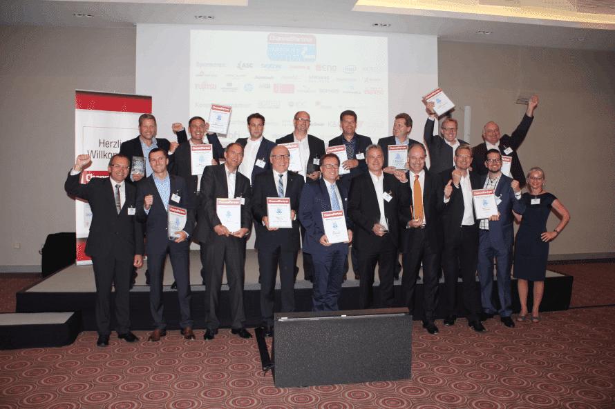 Die Gewinner des Systemhaus-Awards 2015 von ChannelPartner und COMPUTERWOCHE - Bild: Armin Weiler / ChannelPartner