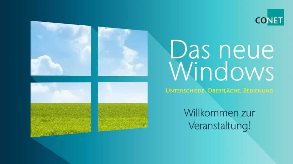 Bild: CONET, Windows 10