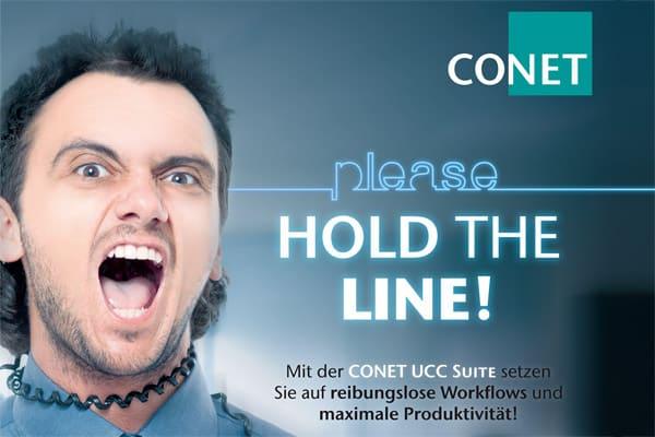 Bild: Reibungslose Workflows und maximale Produktivität - mit CONET-Lösungen für Customer Contact und Call Center