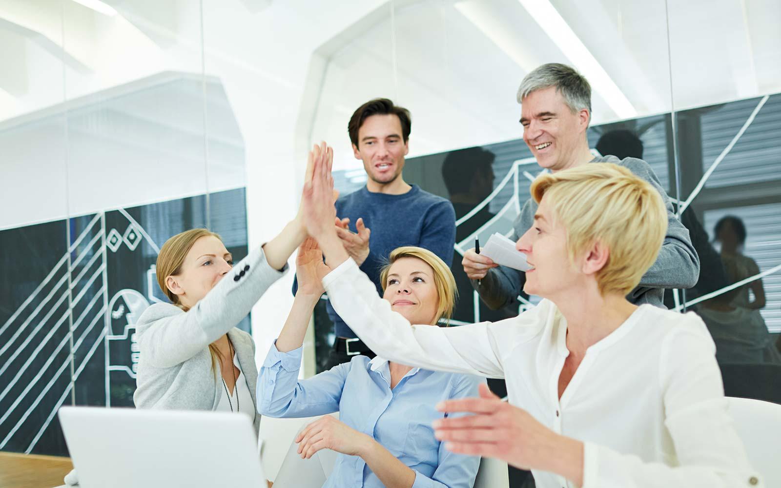 Teamwork - Gemeinsame Erfolge