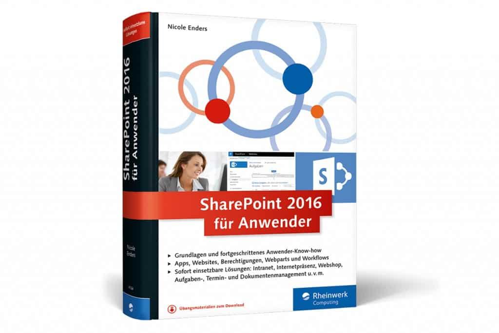 Bild: Anwenderhandbuch SharePoint 2016 von CONET-Expertin Nicole Enders