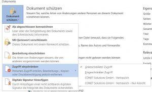 Azure Information Protection Zugriffsmanagement