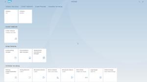 Fiori Launchpad - Startseite