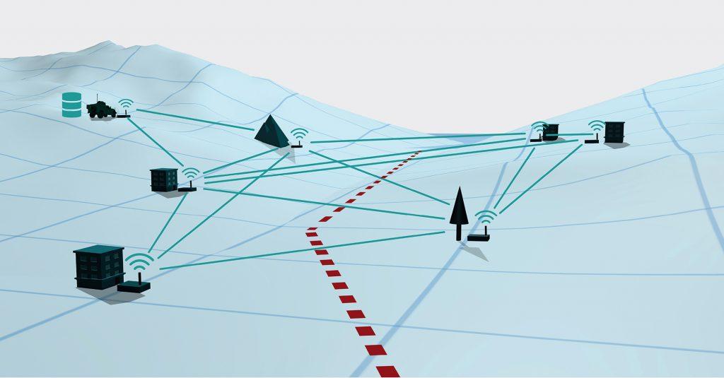 Verlegefähige Ad-hoc-Netzwerke im Einsatzgebiet
