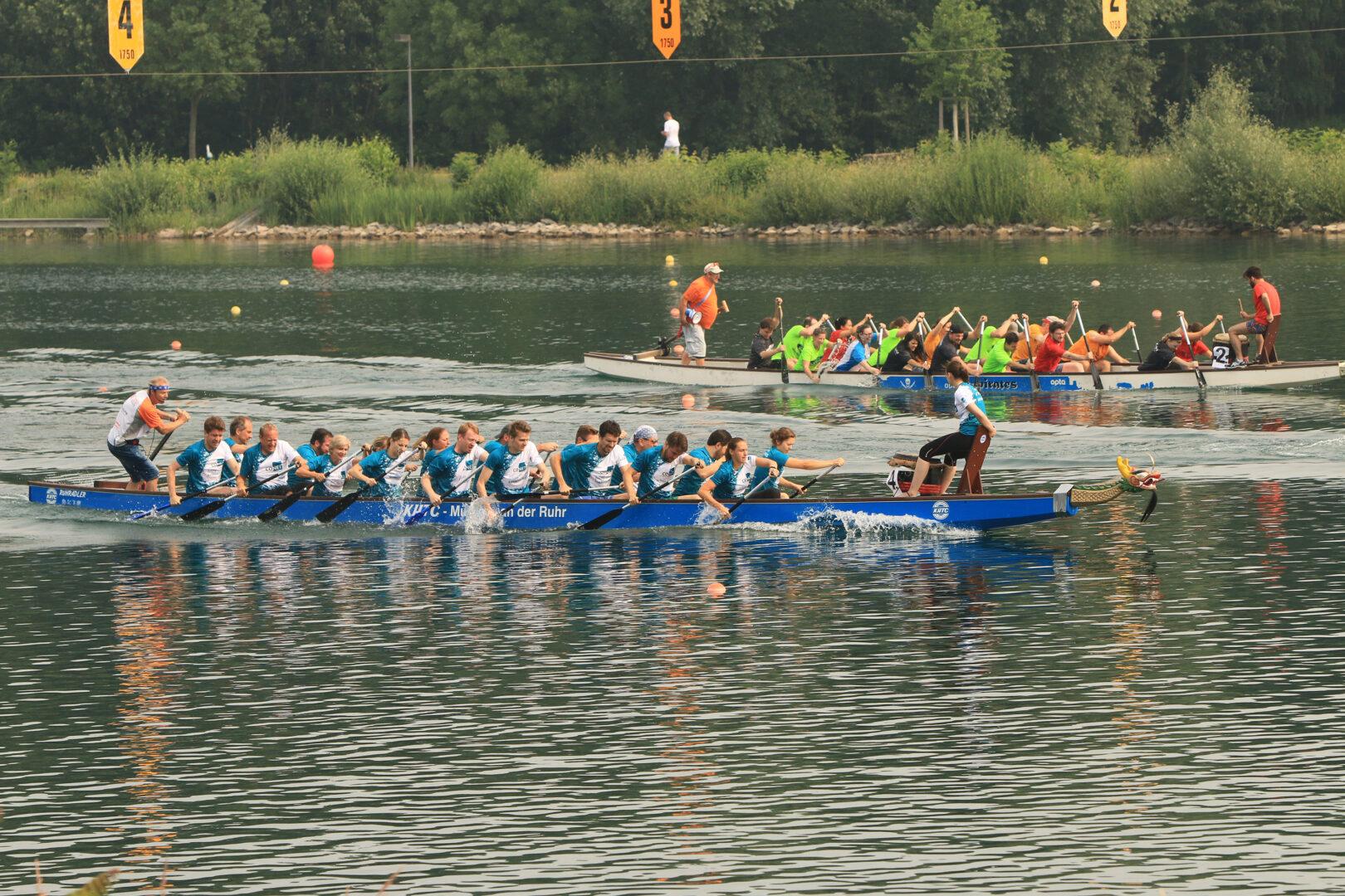 CONET Drachenreiter beim Drachenboot-Festival Fühlinger See Köln 2018