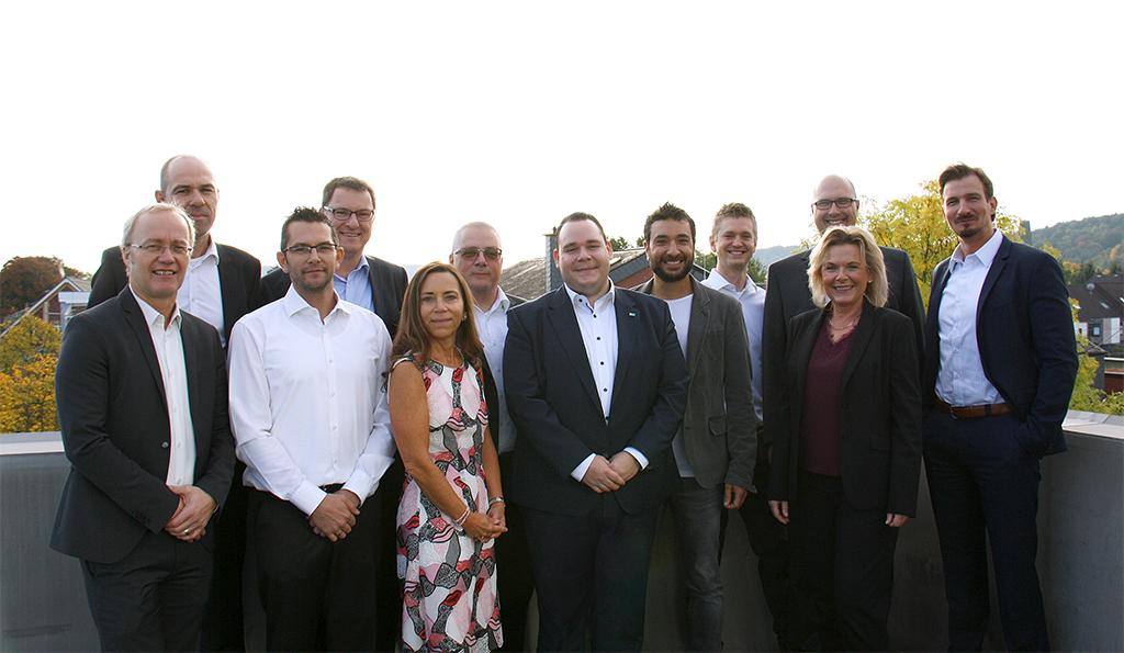 Gruppenfoto Mitarbeiter CONET Essential Center