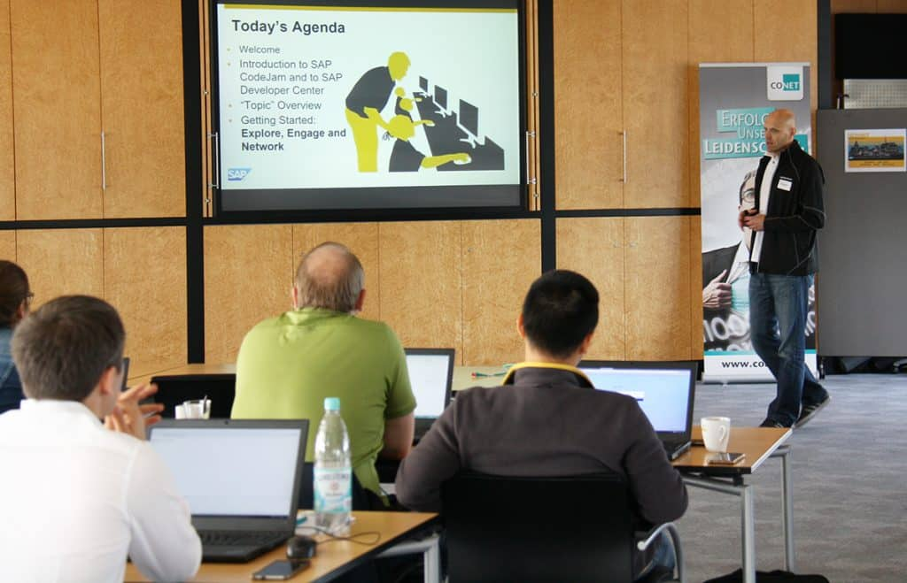 SAP CodeJam am 26. September 2018