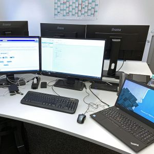 Bild: CONET Arbeitsplatz