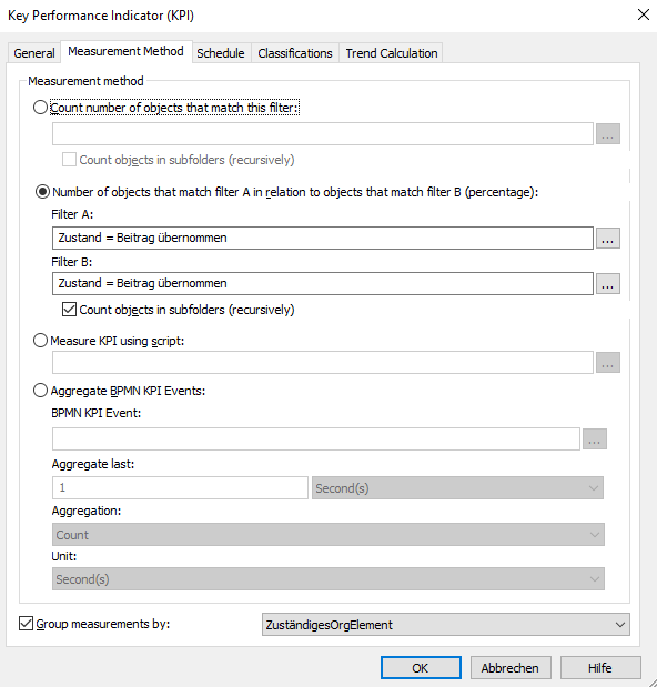 OMNITRACKER - Key Performance Indicator (KPI)